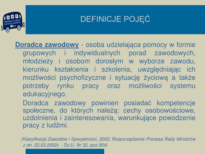 Definicje poj