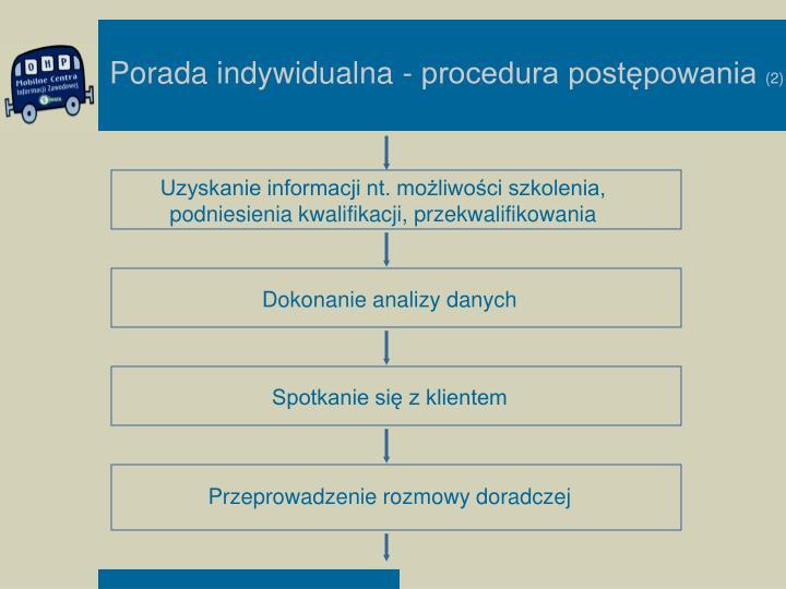 Uzyskanie informacji nt. możliwości szkolenia, podniesienia kwalifikacji, przekwalifikowania