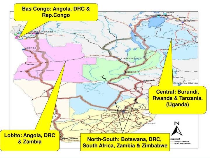 Bas Congo: Angola, DRC & Rep.Congo