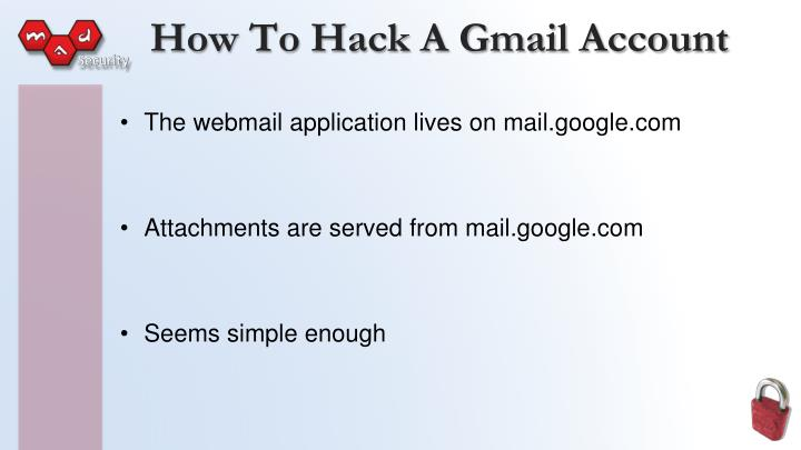 How To Hack A Gmail Account