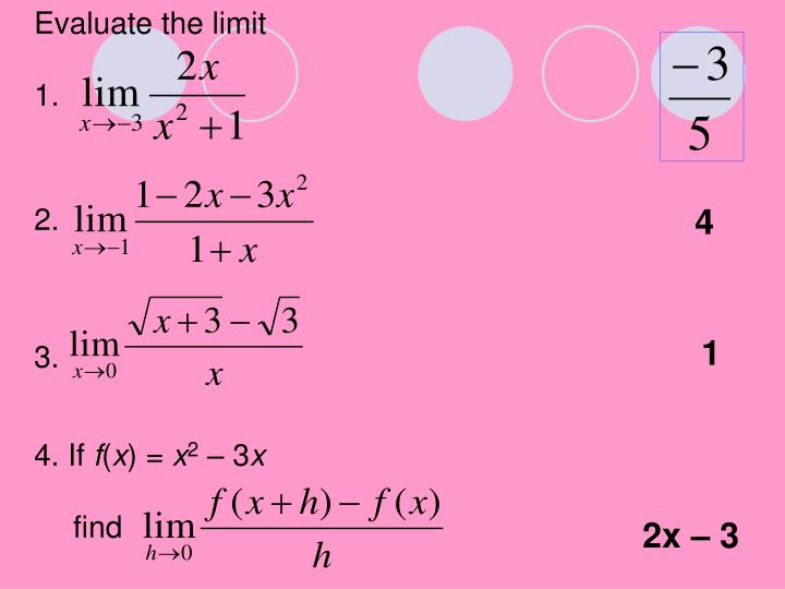 Evaluate the limit