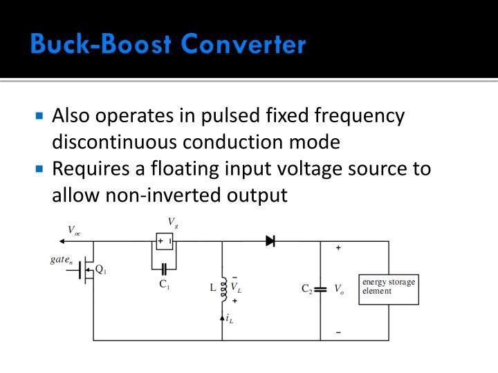 Buck-Boost Converter