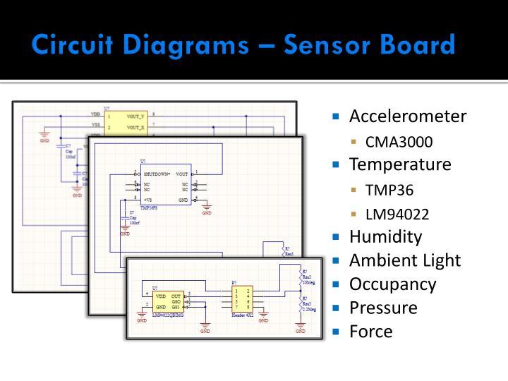Circuit Diagrams – Sensor Board