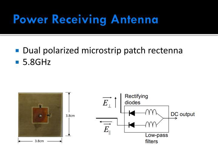 Power Receiving Antenna