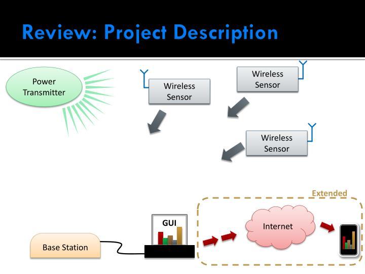 Review project description