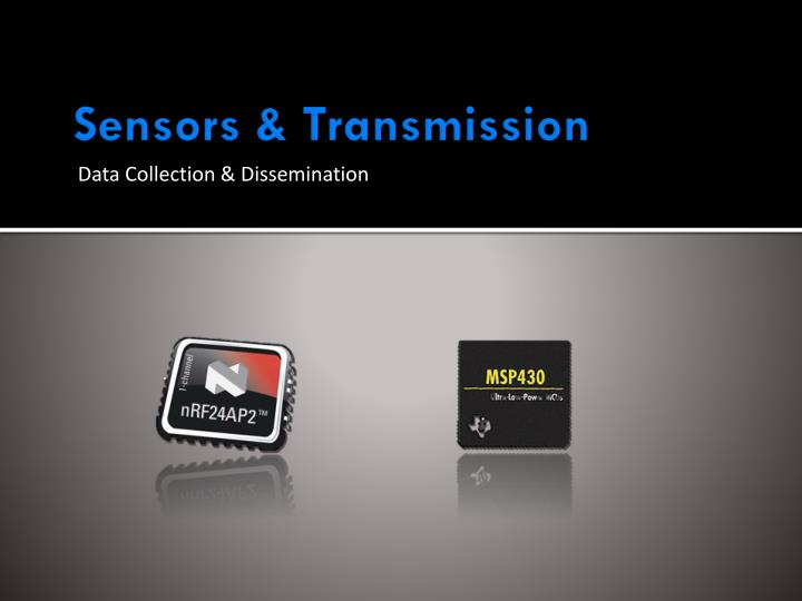 Sensors & Transmission