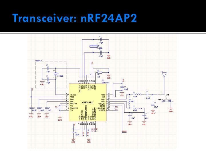 Transceiver: nRF24AP2
