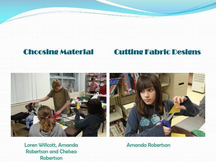Choosing Material