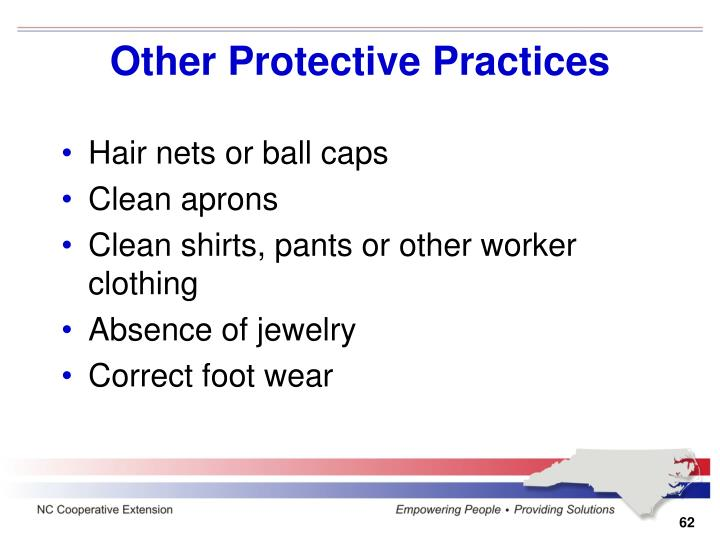 Other Protective Practices