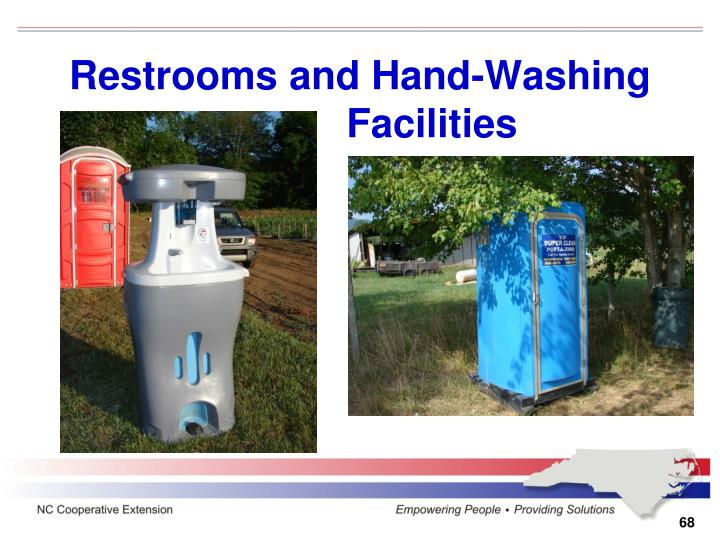 Restrooms and Hand-Washing