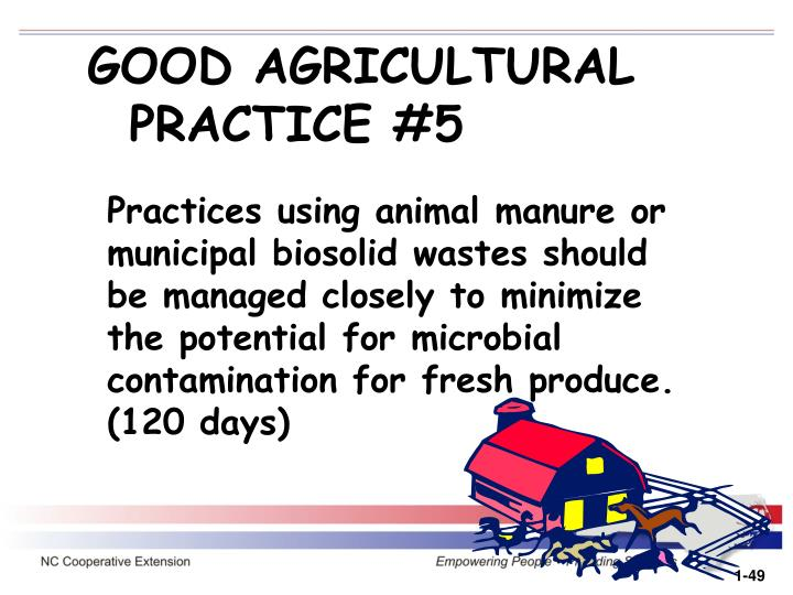 GOOD AGRICULTURAL