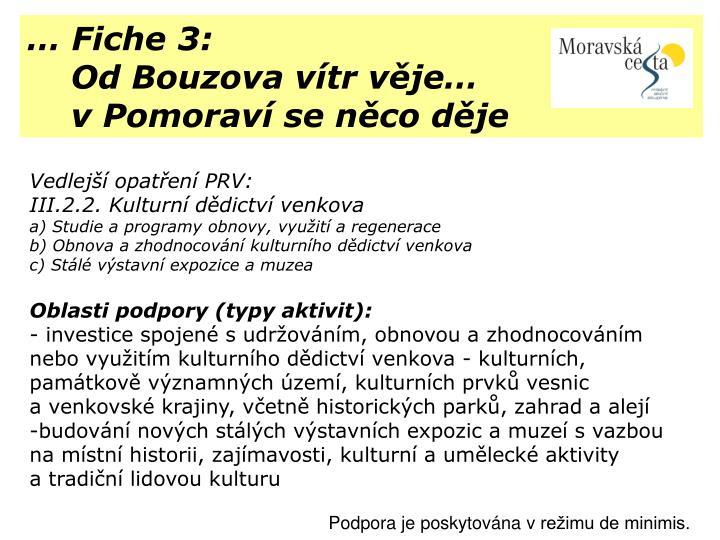 … Fiche 3: