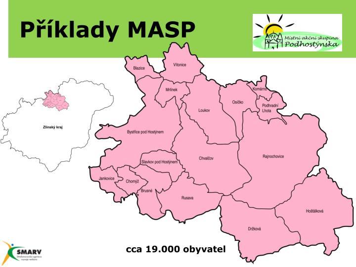 Příklady MASP