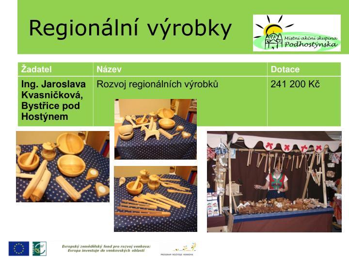 Regionální výrobky
