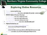 exploring online resources