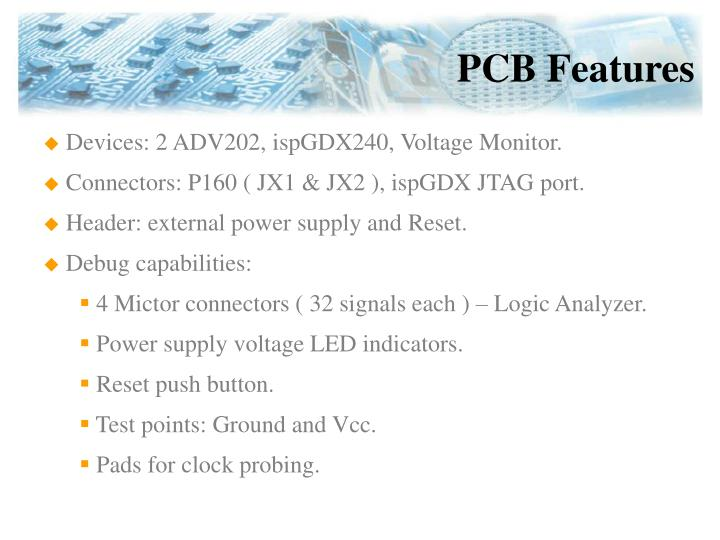 PCB Features