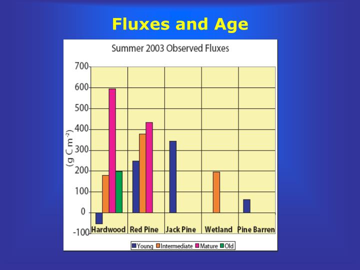 Fluxes and Age
