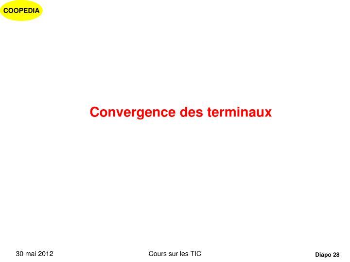 Convergence des terminaux