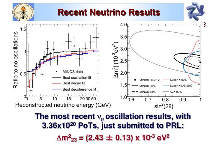 Recent Neutrino Results