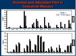 parental and alkylated pah in industrial manaus