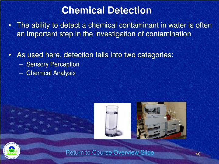 Chemical Detection
