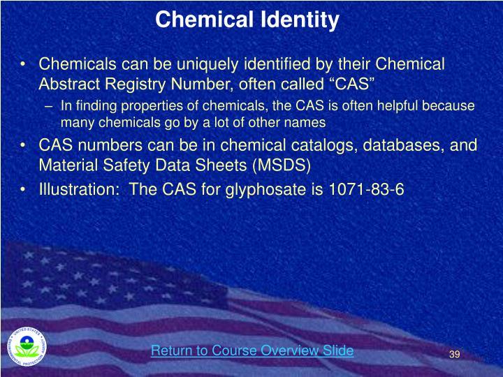 Chemical Identity