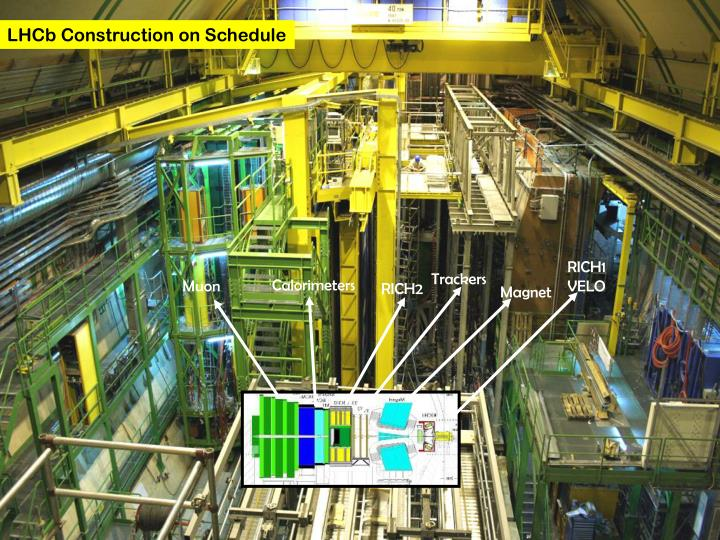 LHCb Construction on Schedule
