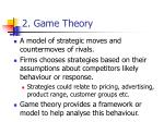 2 game theory