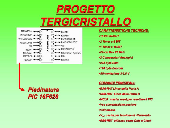PROGETTO TERGICRISTALLO