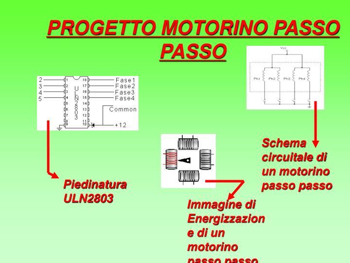 PROGETTO MOTORINO PASSO PASSO
