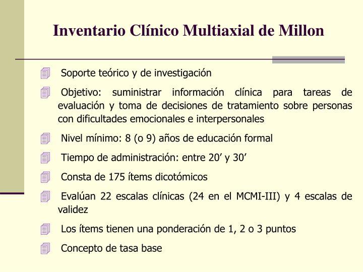 Inventario cl nico multiaxial de millon1