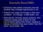 externally based mids
