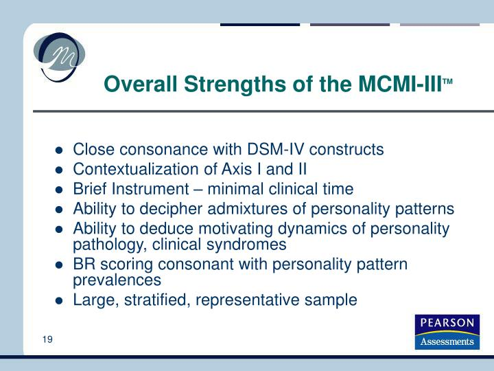 PPT - Program 1: MCMI-III Overview PowerPoint Presentation - ID:4253066