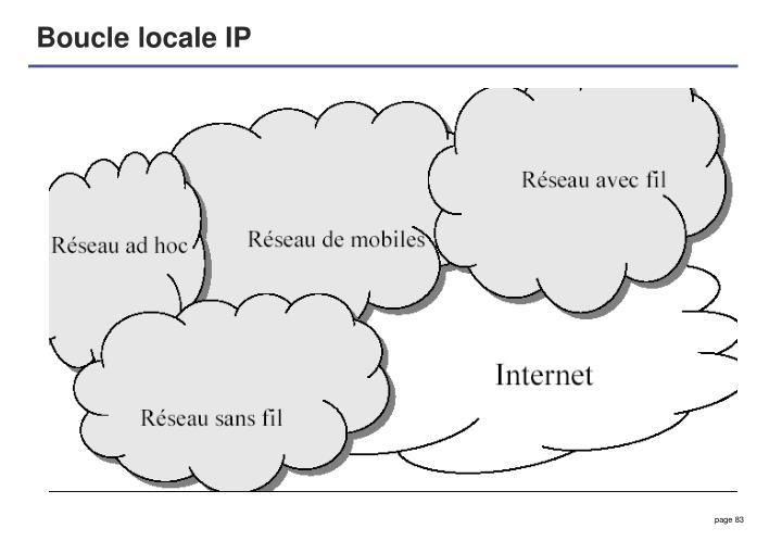 Boucle locale IP