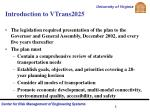 introduction to vtrans20252