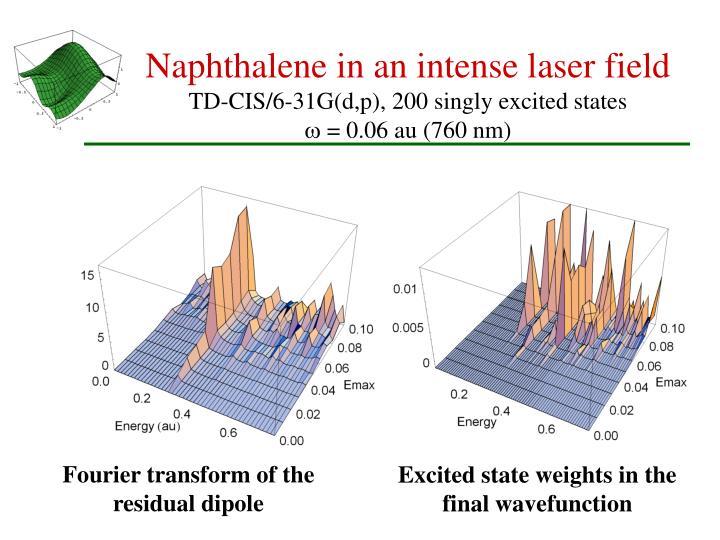 Naphthalene in an intense laser field