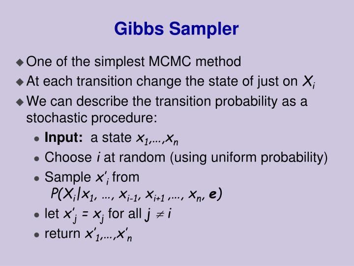 Gibbs Sampler