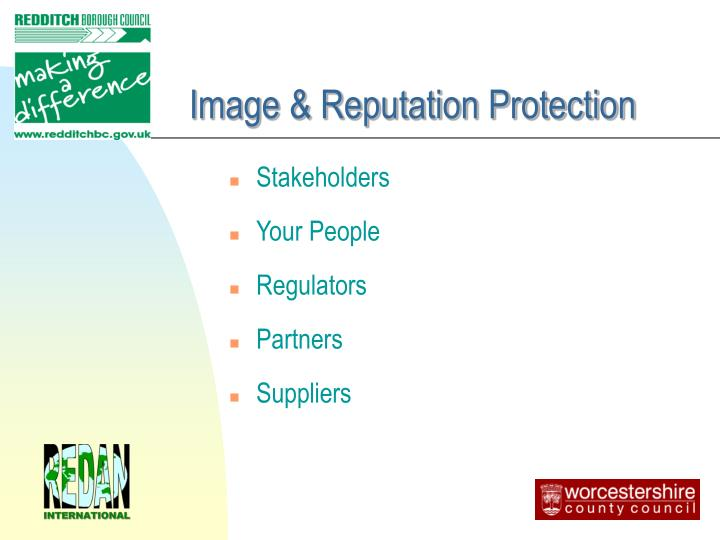 Image & Reputation Protection