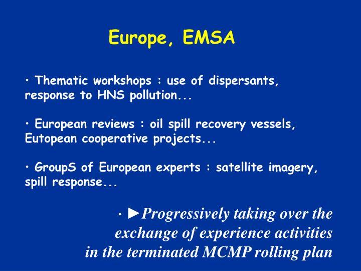 Europe, EMSA