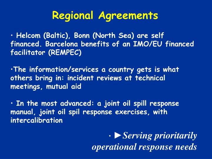 Regional Agreements