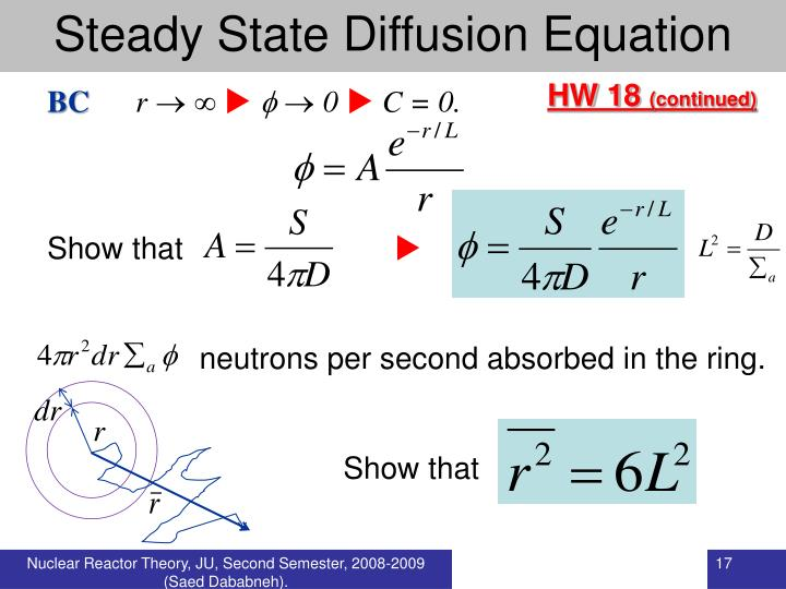 Steady State Diffusion Equation