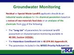 groundwater monitoring4