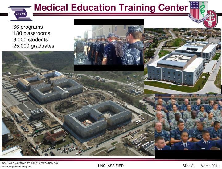 Medical education training center