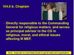 104 8 b chaplain