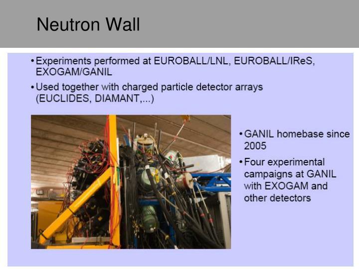 Neutron Wall