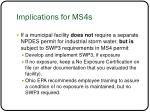 implications for ms4s2