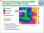 electrical resistance heating erh at paducah ky doe facility