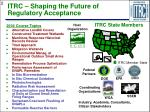 itrc shaping the future of regulatory acceptance