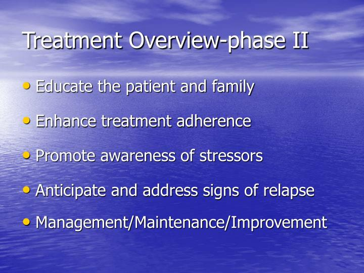 Treatment Overview-phase II