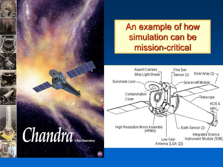 An example of how simulation can be mission critical